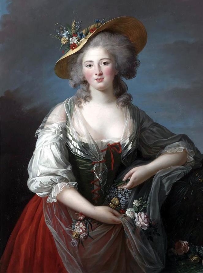 Прическа и головной убор XVIII века