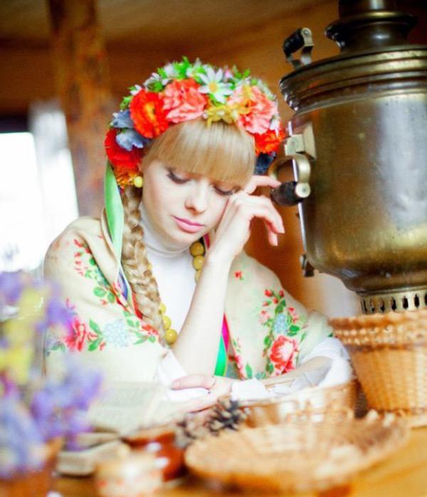 Русская красавица – фото