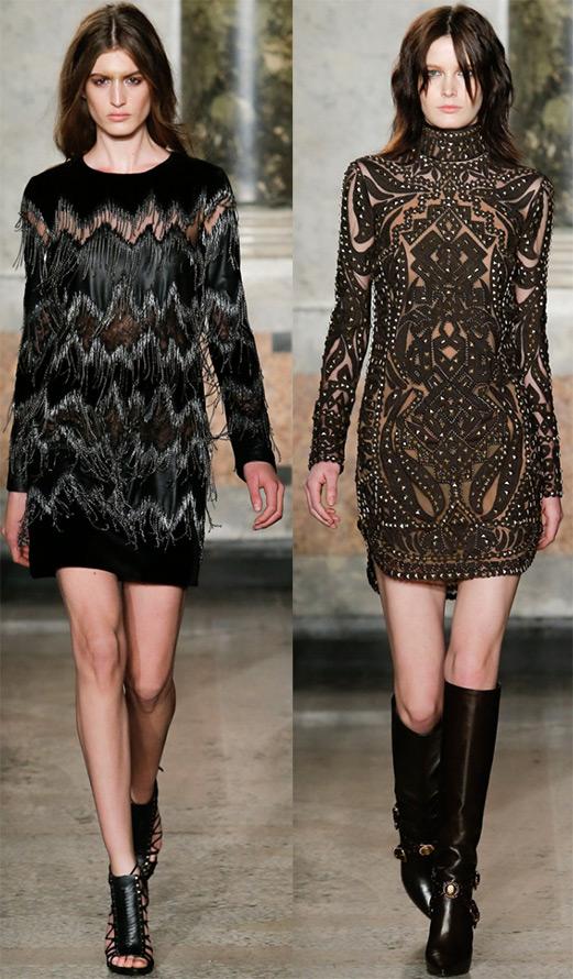 Короткие платья осень зима 2014 2015