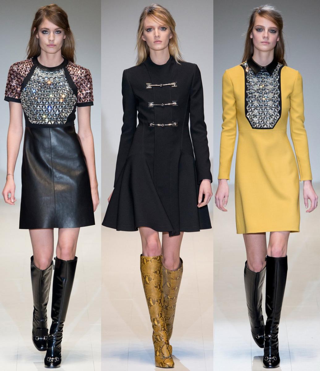 Модные платья, Осень-Зима 2014-2015 (фото): какие платья самые м