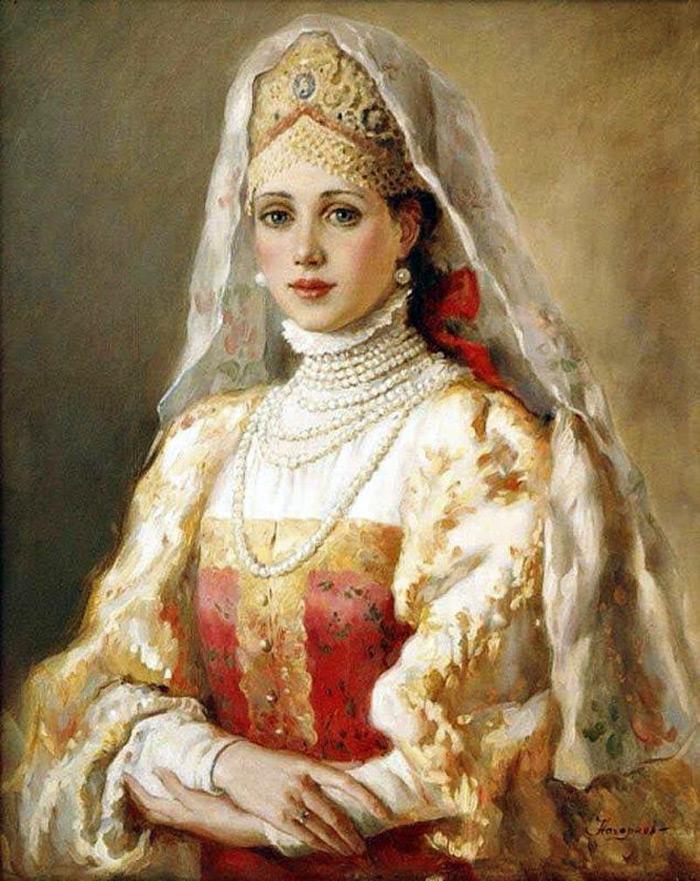 Русские красавицы – 24 картины