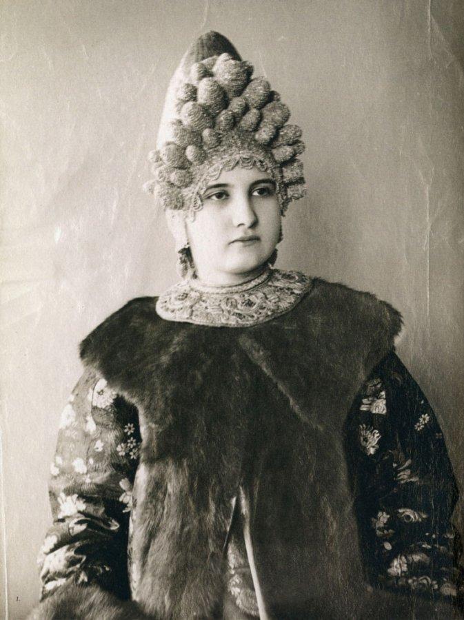 Старинные фото русских красавиц