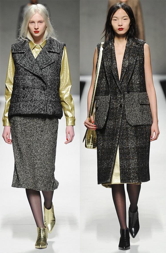 модные пальто тенденции осень зима 2015