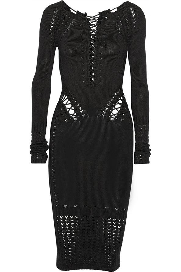 Черное платье 2014-2015