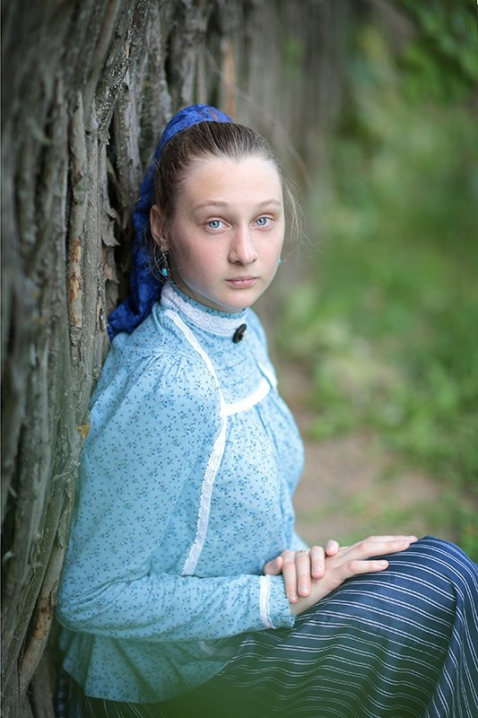 Русские девушки фото в народном