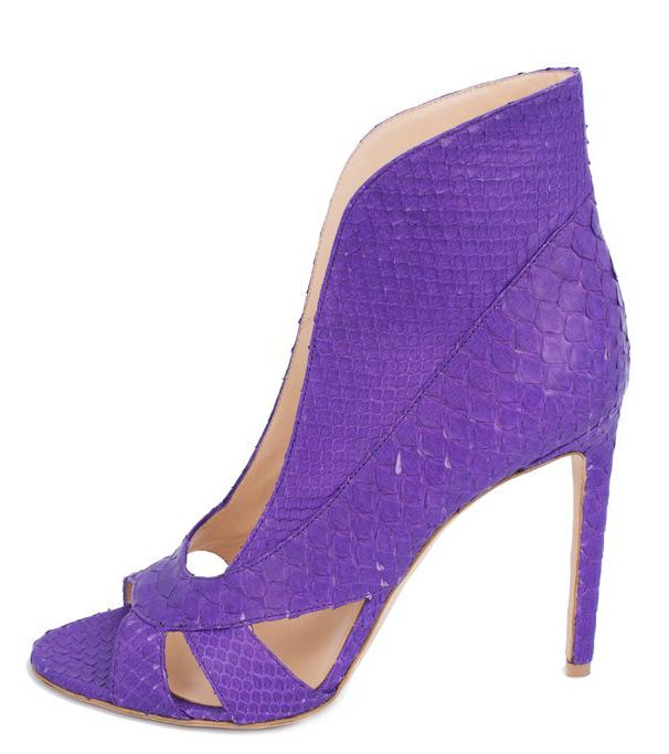 Фиолетовая обувь и сумки 2015