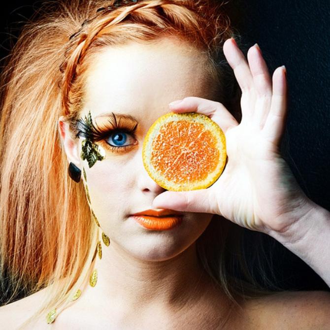 Апельсиновое эфирное масло для волос