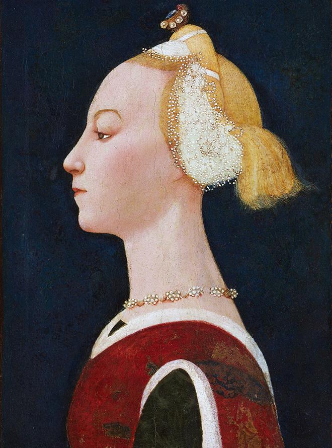 Женские прически Северного Возрождения