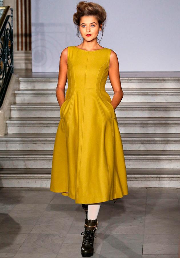 Теплые платья 2015 осень
