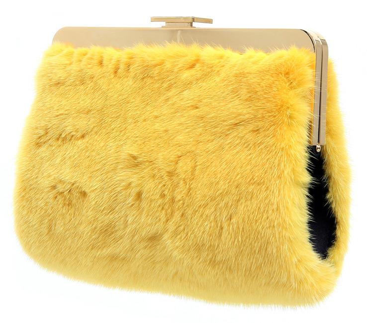 Меховая сумка 2015-2016