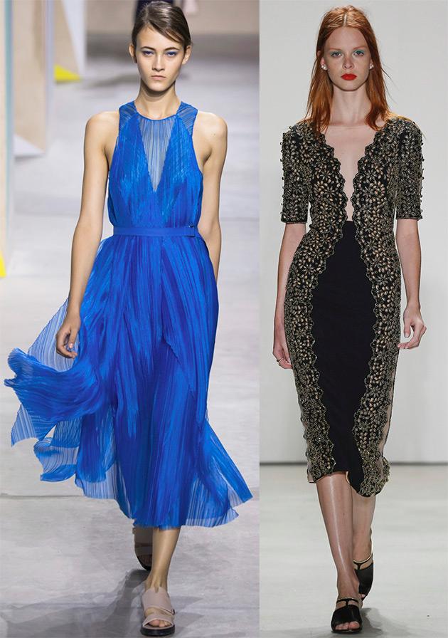 Модная тенденция глубокий вырез