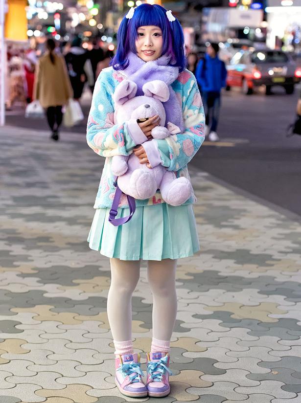 Картинки японские девушки зимой