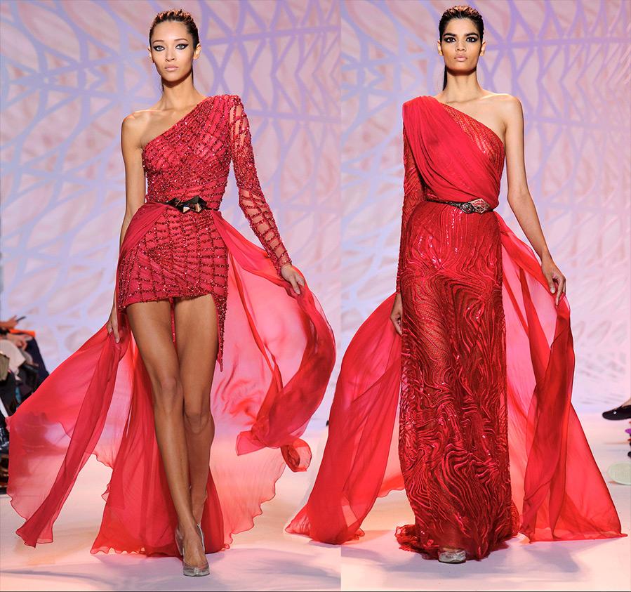Секс аристократ красном платье