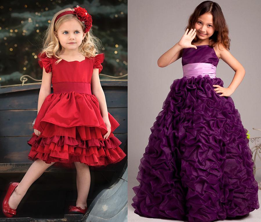 Платья для девочек нарядные с