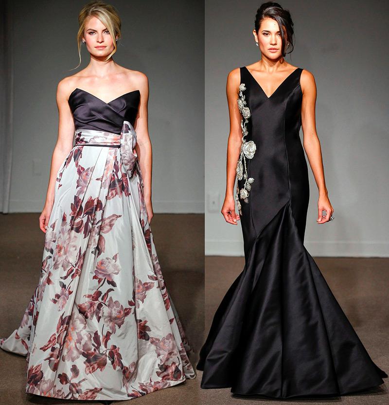 Черные свадебные платья