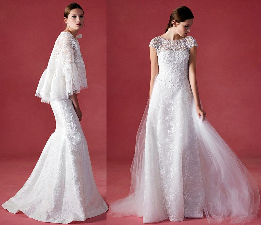 Белые свадебные платья Oscar de la Renta