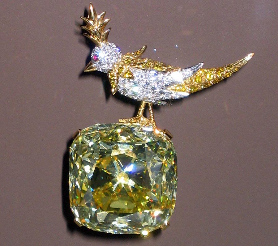 Жёлтый бриллиант Тиффани