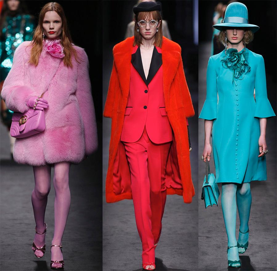 Модные цвета осень-зима 2017 в одежде и аксессуарах