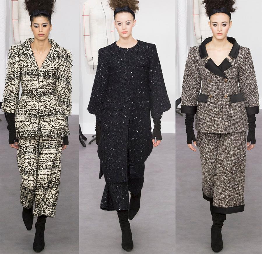 Платья и женская одежда Шанель 2017