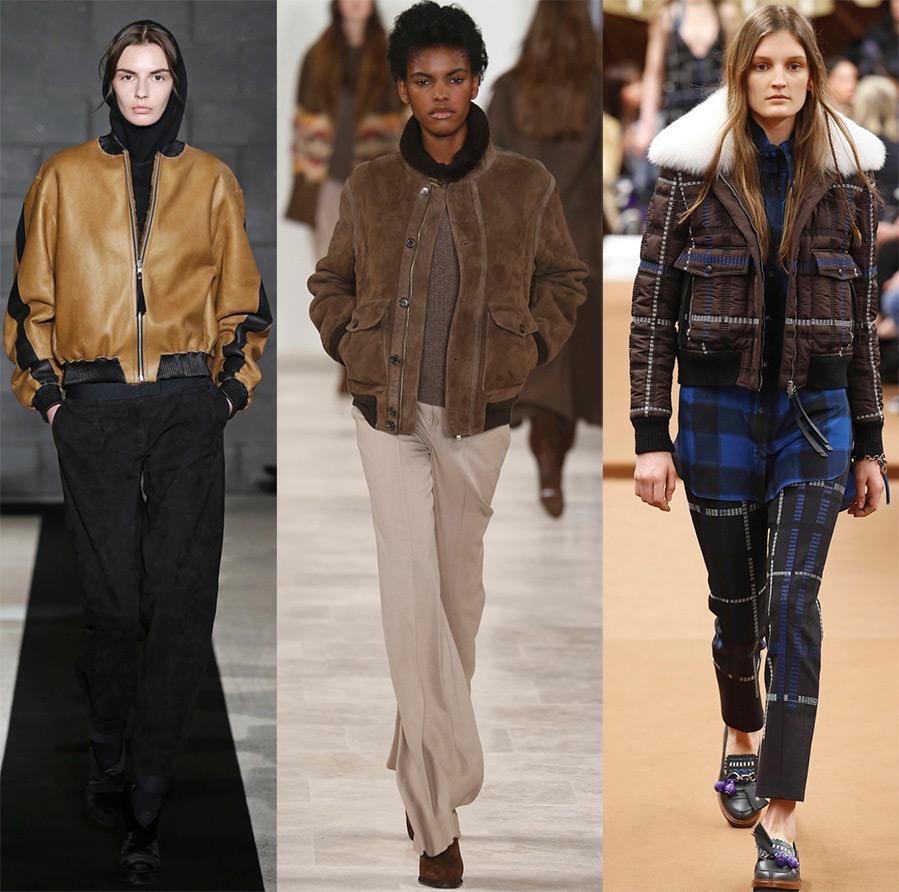 Женские куртки осень и зима 2017 – 100 фото