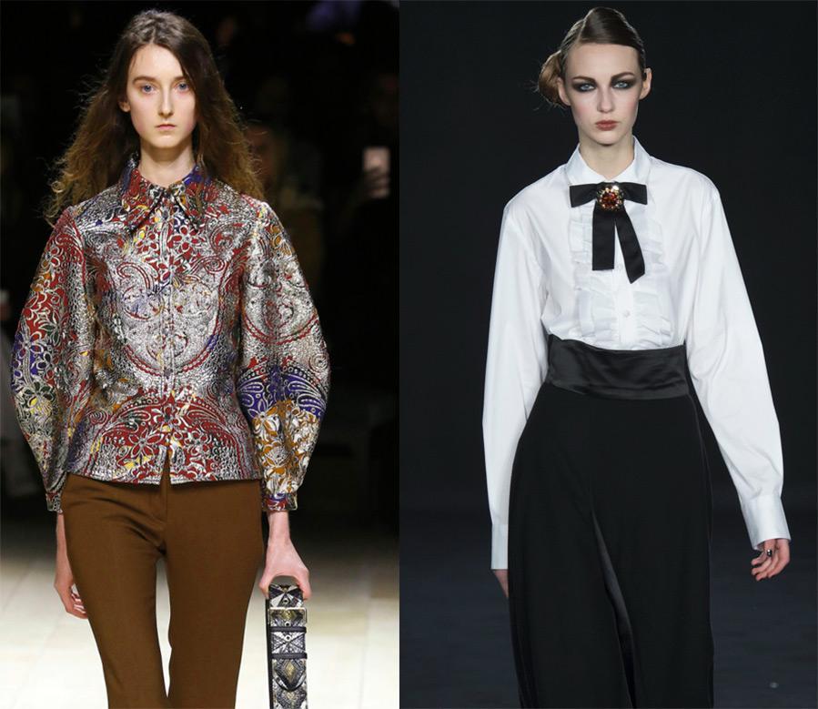 Блузки модные в 2017 году фото
