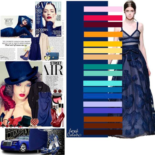 Какие с каким сочетать цвета в одежде