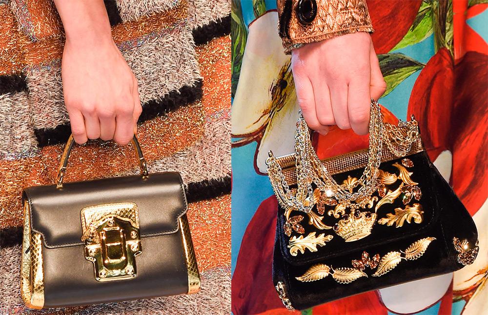 Dolce & Gabbana сумки 2016-2017