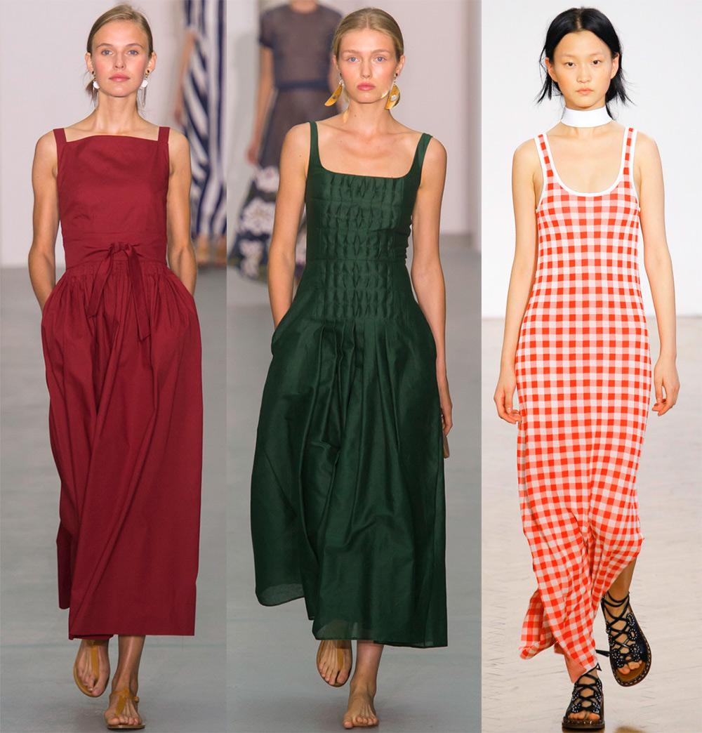 Платья и сарафаны лето 2017