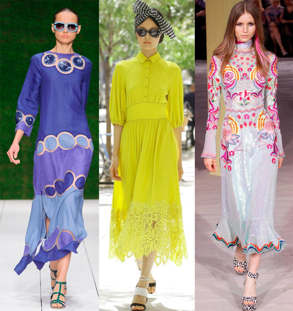 Мода 2017 года платья