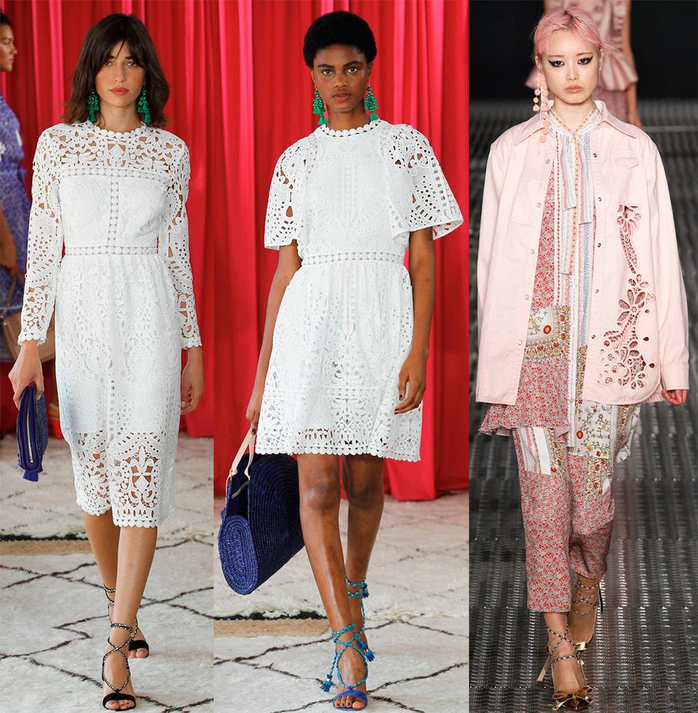 модная женская одежда с вышивкой