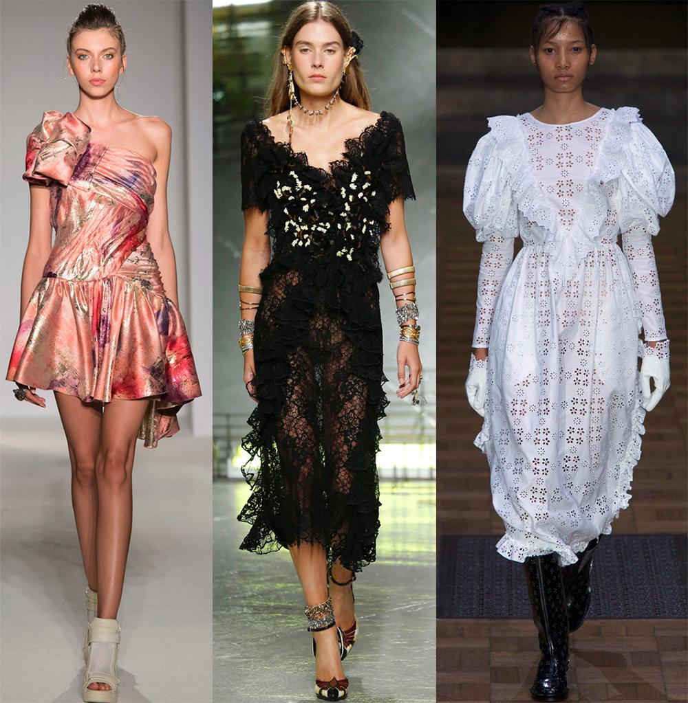 Модные платья 2017-2018 года весна-лето