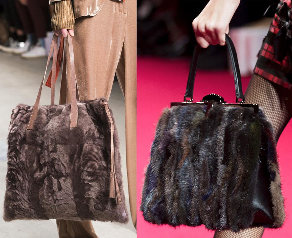 Меховые сумки 2017-2018