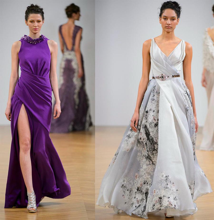 Платье в пол 2017