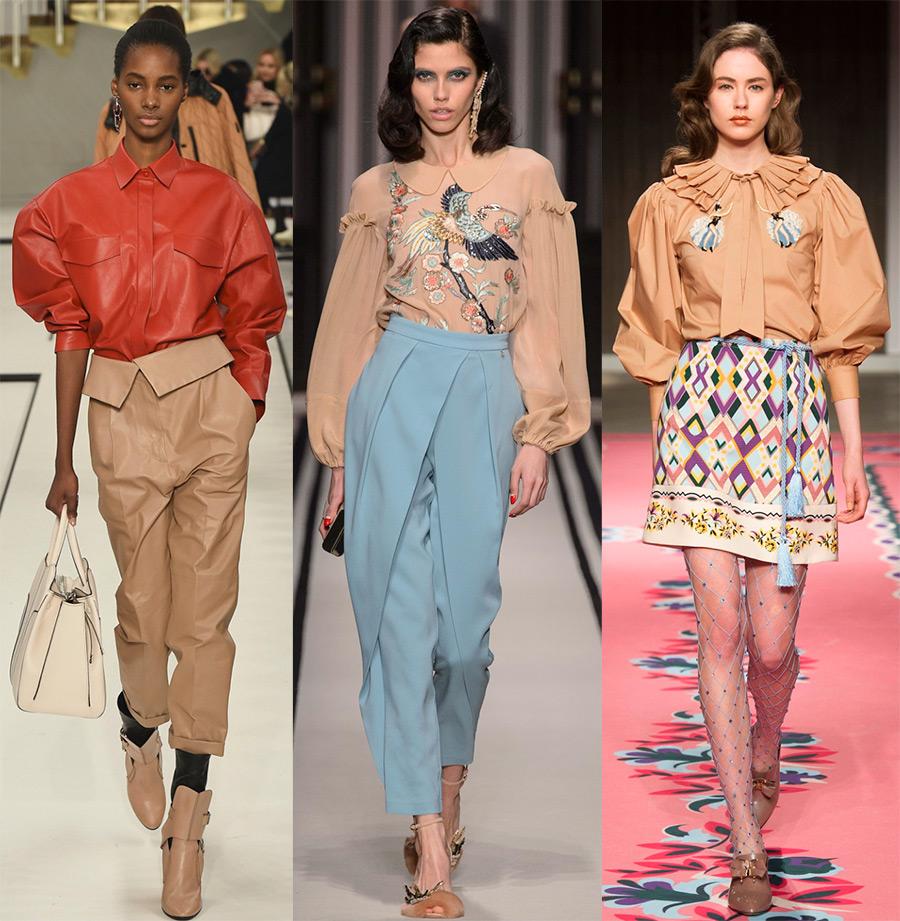 Модные тенденции блузок весна лето 2018