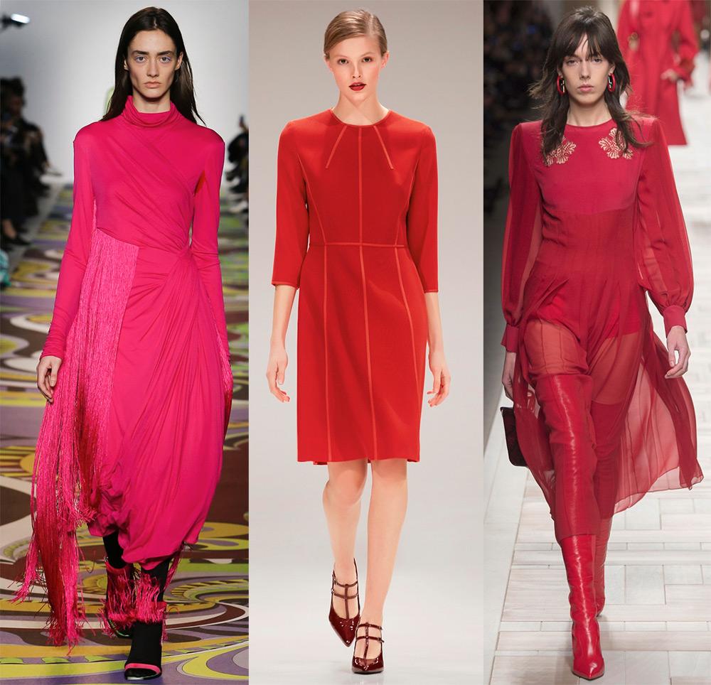 Красные вечерние платья 2017-2018 новинки