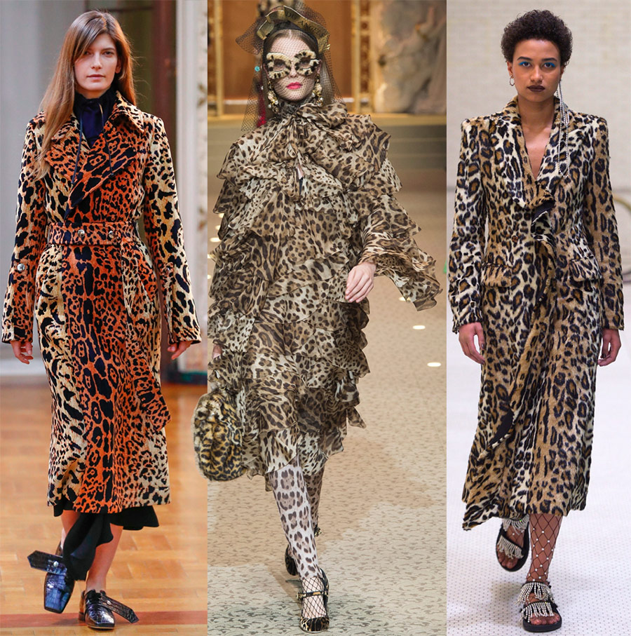 Модная тенденция осень-зима 2018-2019