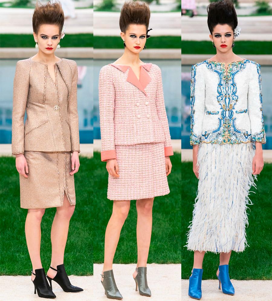 Женские костюмы Chanel